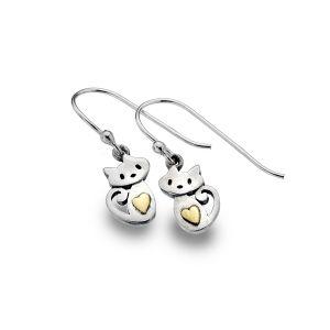 Cute Kitten earrings