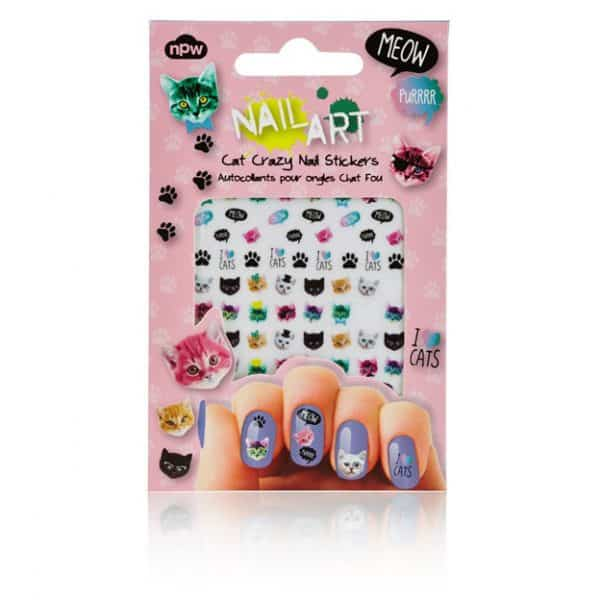 Cat Nail Art Stickers