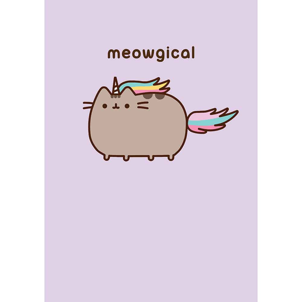 Pusheen Meowgical Card Meowco