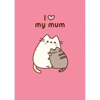 Pusheen Love My Mum card