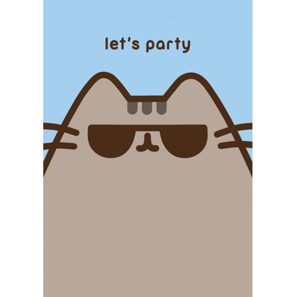 Pusheen Lets Party Card Meowco