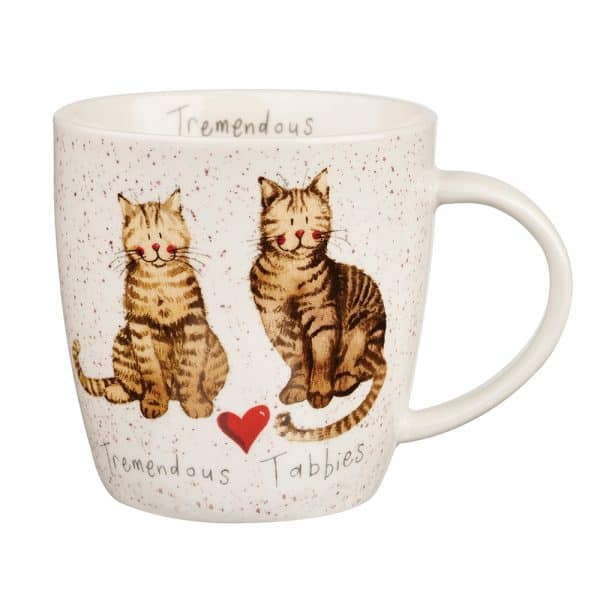 Alex Clark Charismatic Cats Mug