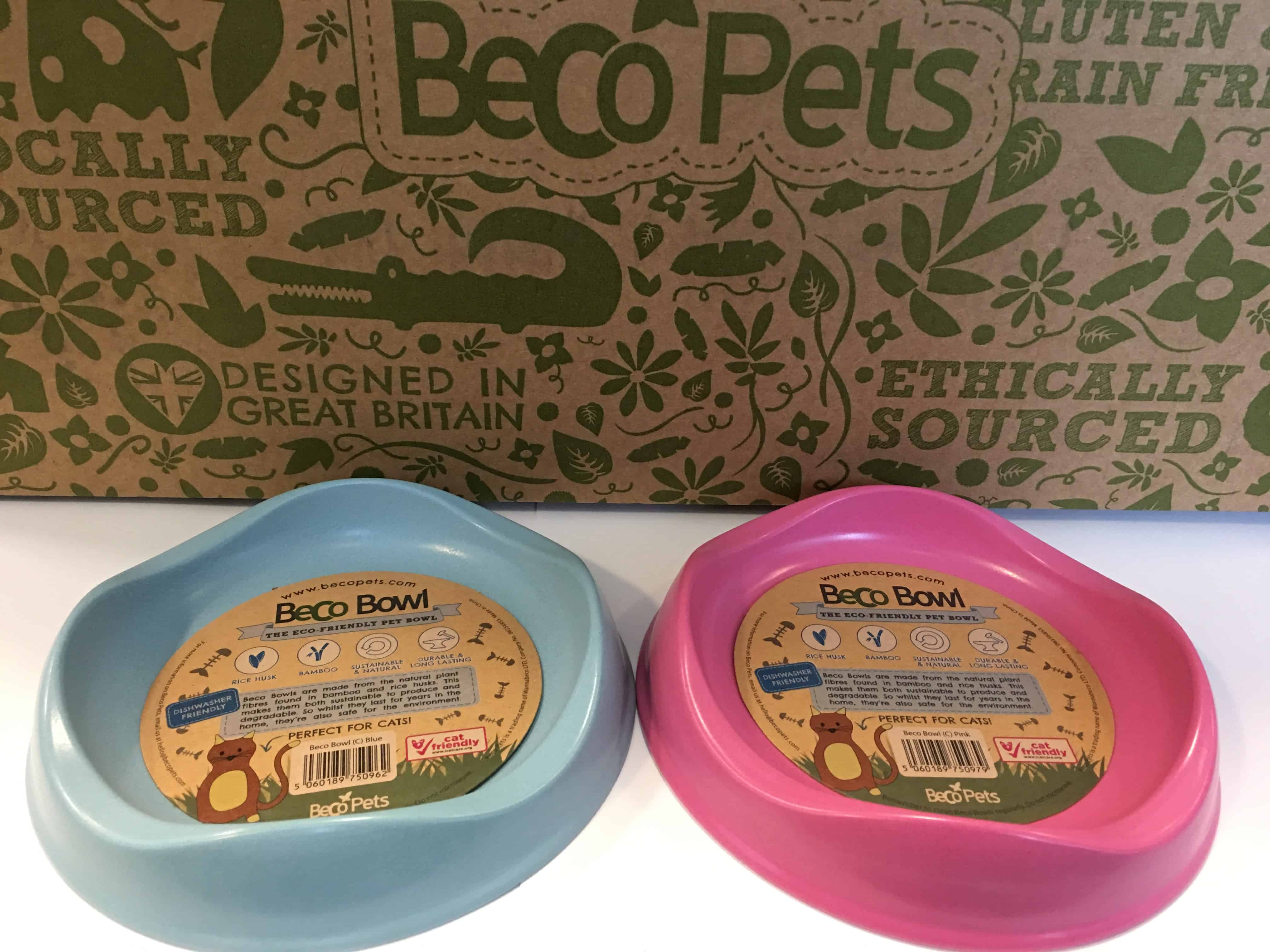 Cat bowls and trays
